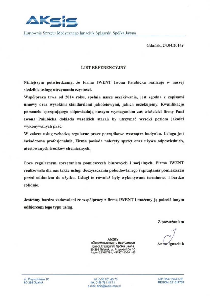 opinie o firmie sprzatajacej iwent iwona palubicka-4